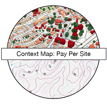 Context Map Pay Per Site